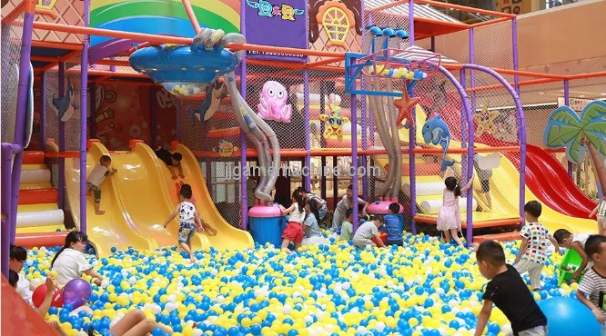 Children's paradise can also play new tricks? The new children's paradise opens a new era of amusement!