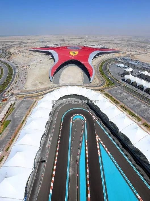 Ferrari World, Ferrari World Park, UAE