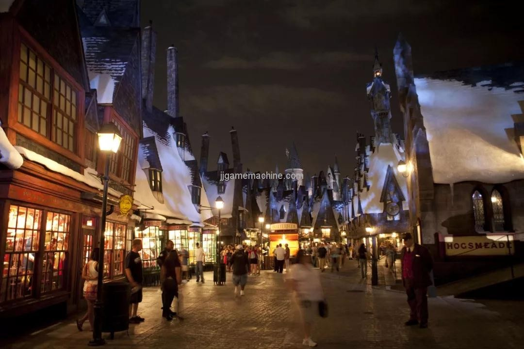 harry potter magic world