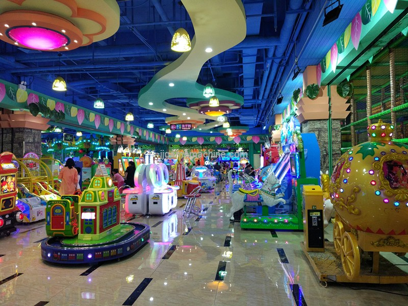 How do children's amusement park management strategies have repeat customers?