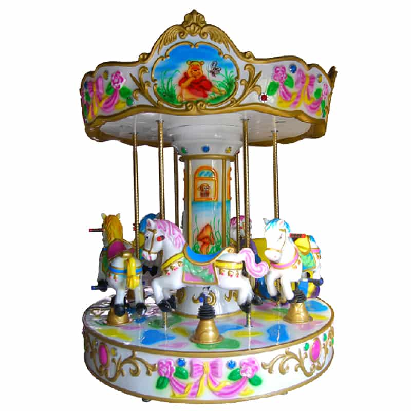 Luxury 6 Seats Kids Carousel Horse