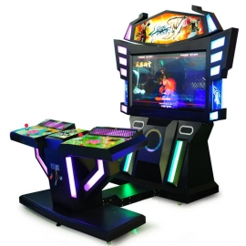 Wind and cloud:2 players fighting arcade games
