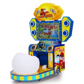 Flame Racer:Kids Arcade Car Racing Games
