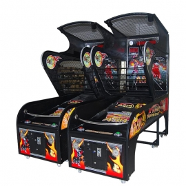 LED lights Luxury Basketball Arcade Game