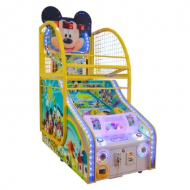 Mickey mouse kids basketball machine