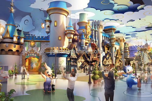 Strictly order to go to the real estate, the future of the theme park, where is the road?
