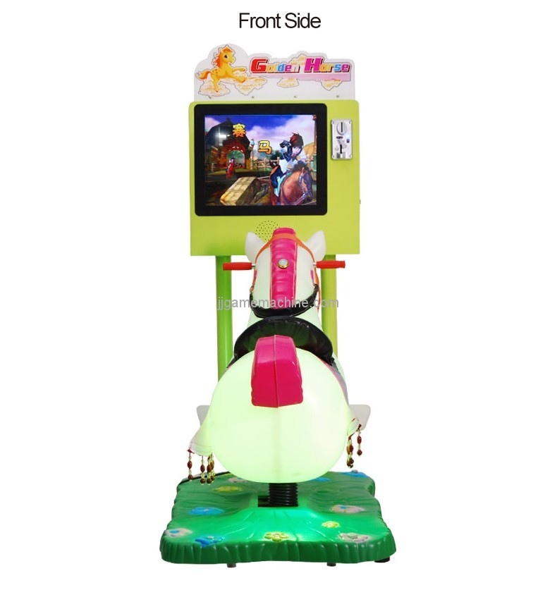 kids swing machine horse racing game kids ride on car