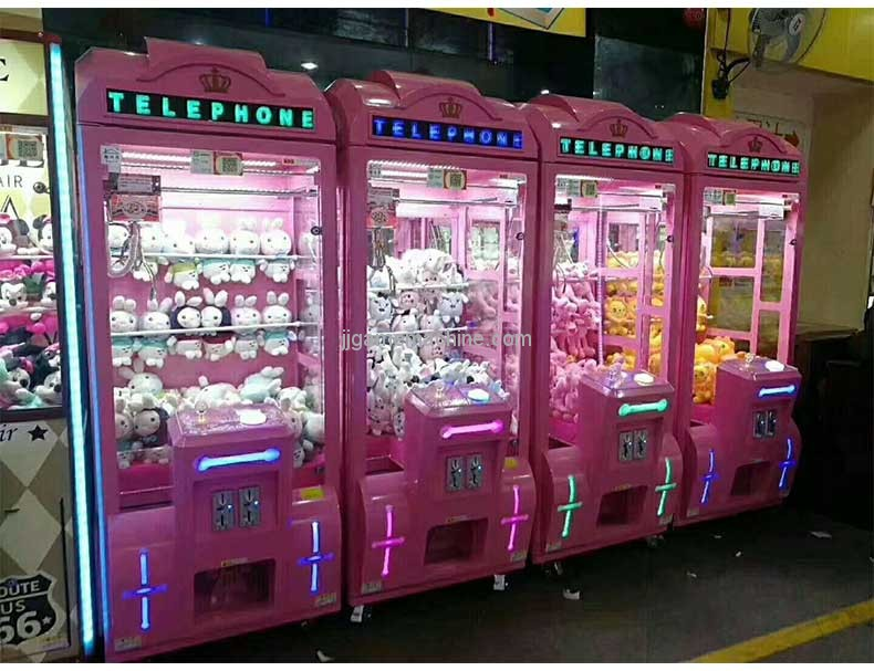 Telephone Booth Style Claw Machine