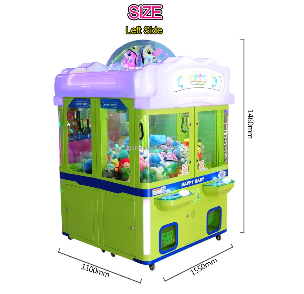 Happy Baby 4P-children crane game machine