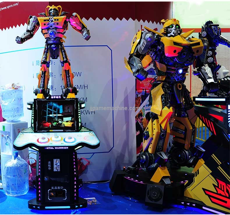 SQV amusement show display arcade toy kit robots humanoids