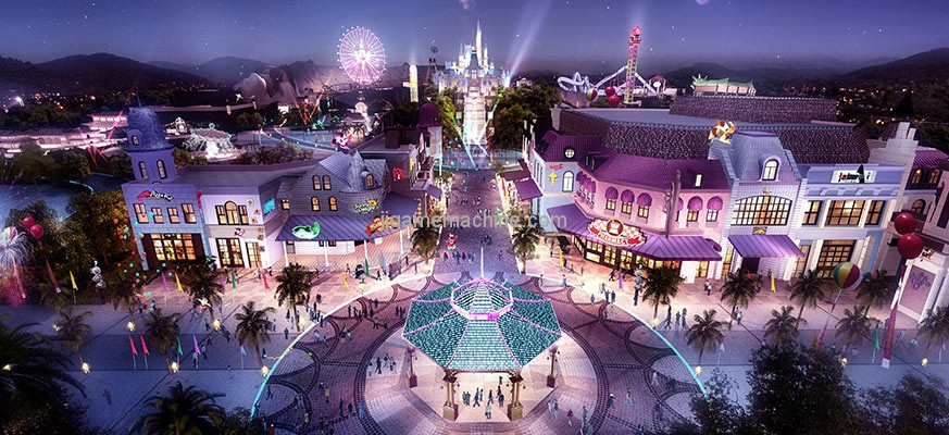 Innovation and development? How to break through the theme park