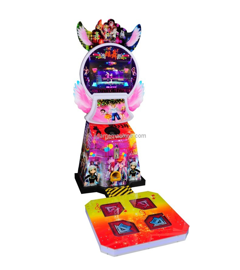 kids amusement equipment coin operated dance simulator arcade arcade dancing machine for kids