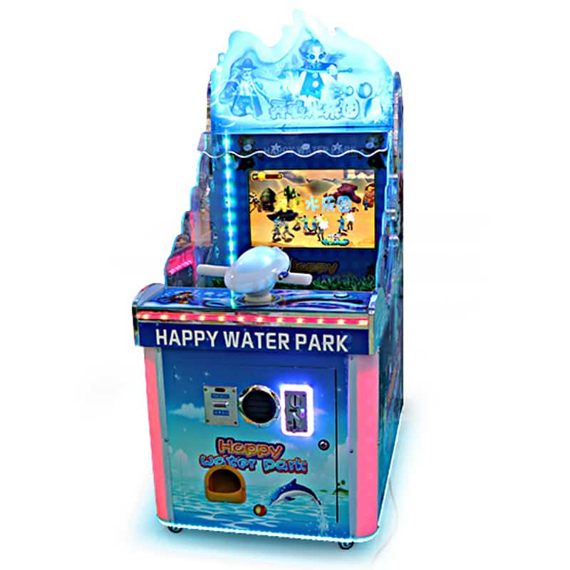 Happy Water Park Kids Gun Shoot Machine