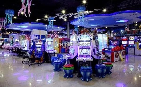"Those ""good"" electric games center, their machines, are all bought like this."