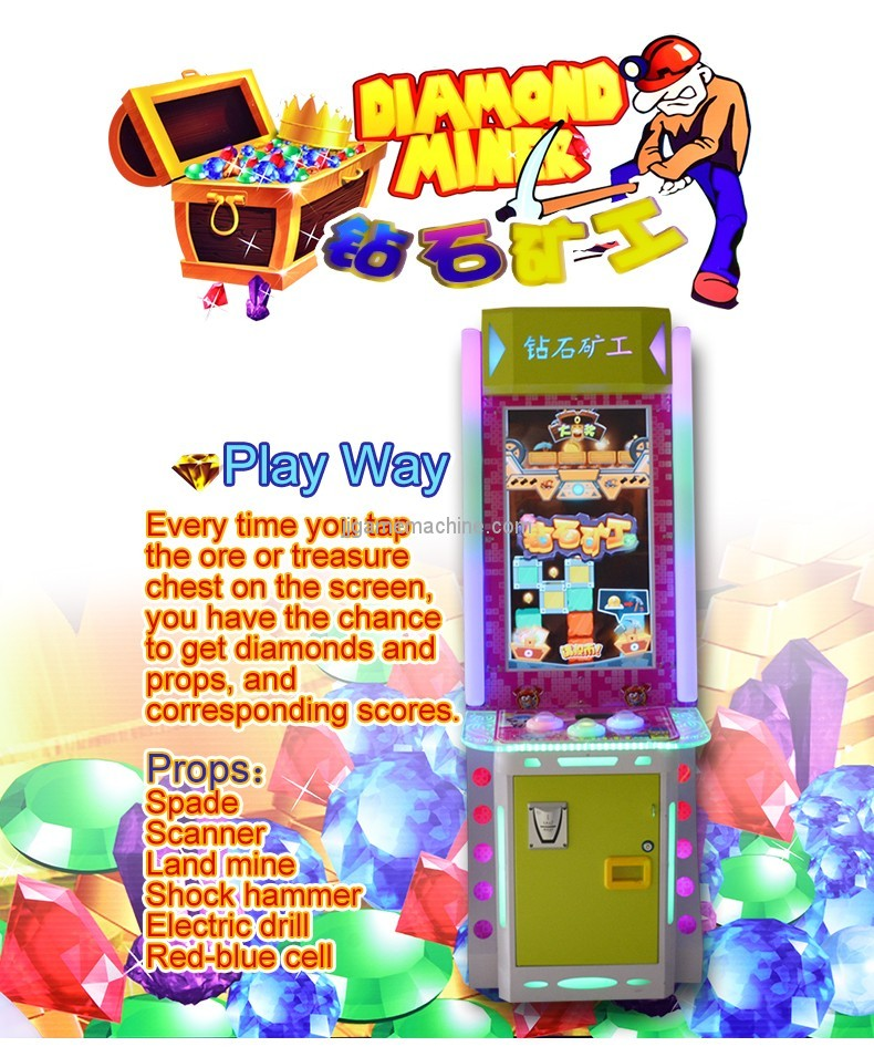 New arrival arcade game machine capsule or lottery ticket machine for sale