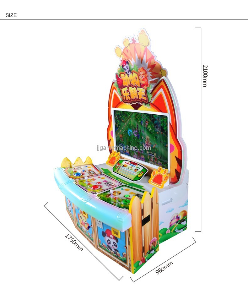 Video arcade equipment lottery ticket prize game machine coin operated redemption games