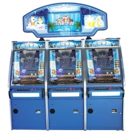 Lucky Paradise Coin Pusher Machine