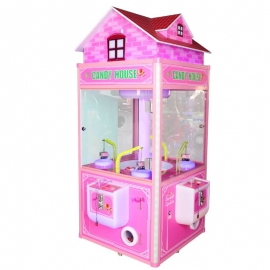 Candy House Claw Crane Vending Gift Machine