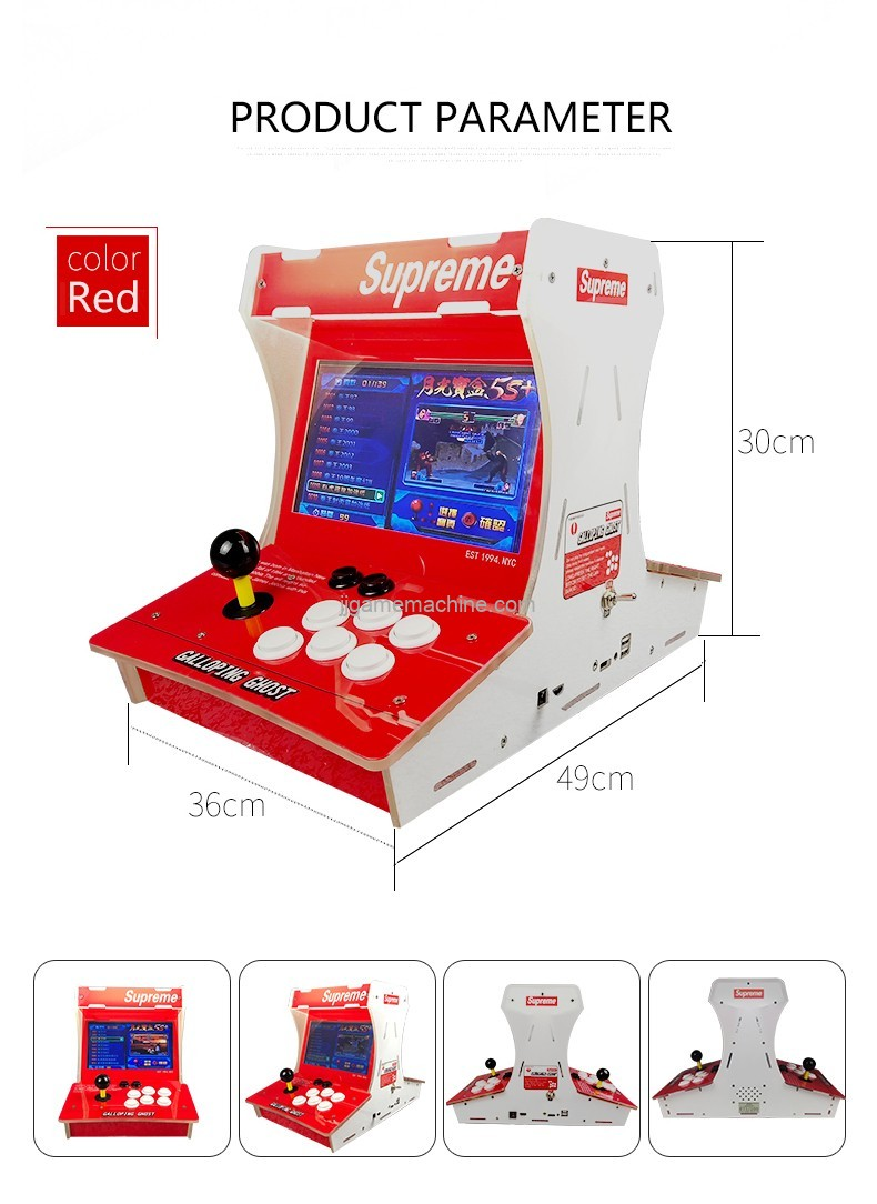 home use and arcade equipment fighting game street fighter table game machine