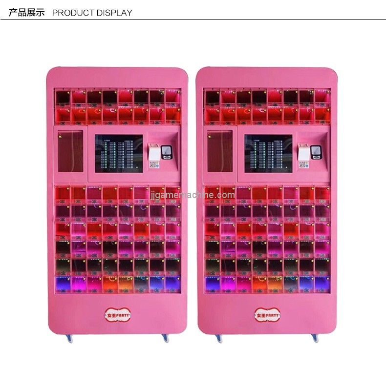 New arrival touch screen game cosmetic lipstick gift touch screen vending machine
