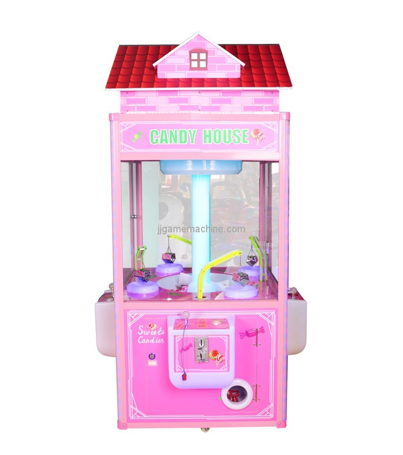 Kids Amusement equipment coin operated kids gift claw crane vending machines for sale