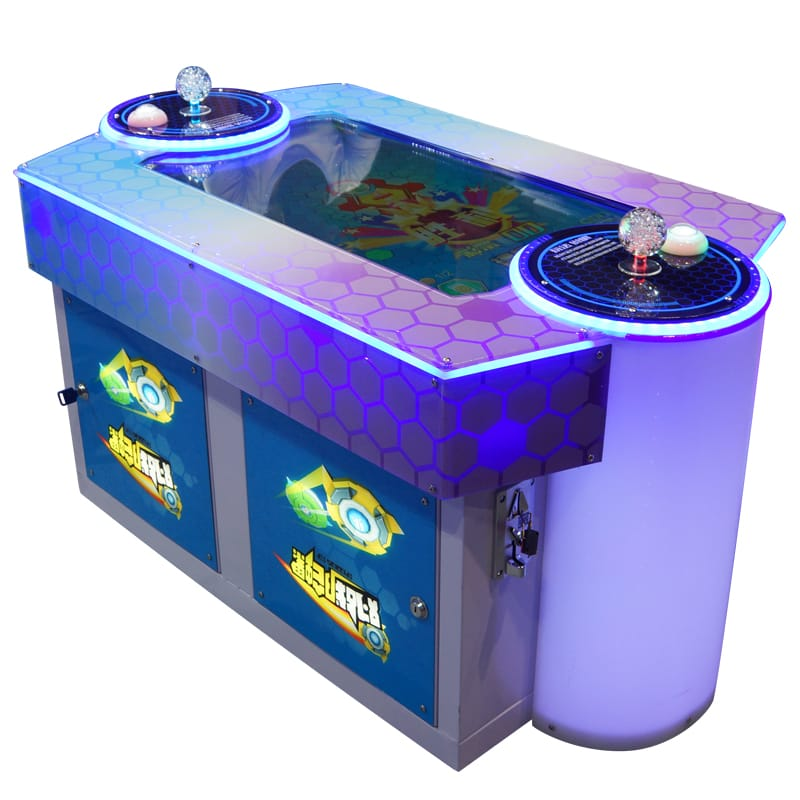 Battle gyroscope arcade air hockey table game machine