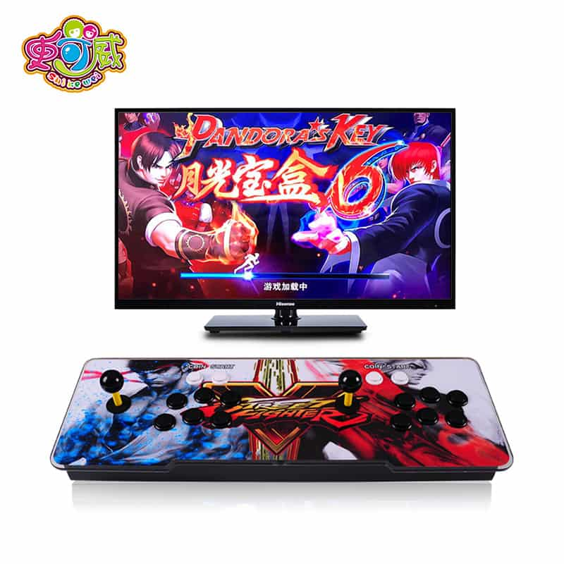 Home use 3D and 2D arcade game console 1500/2700 games