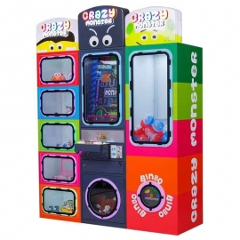 Crazy monster- Vending Prize Machine