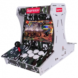 SuperSqv 2 players arcade mini video games 1500/3200 kinds games