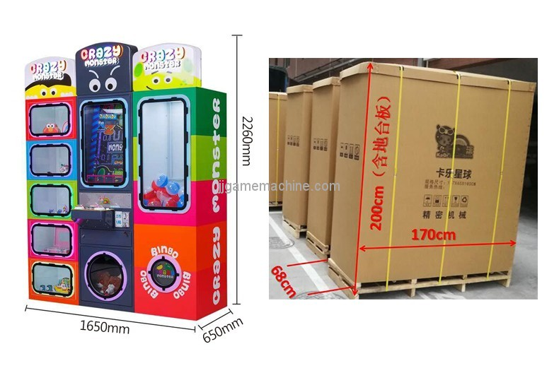 Newest eat balls game arcade game machine trade center amusement equipment coin operated gift vending machines