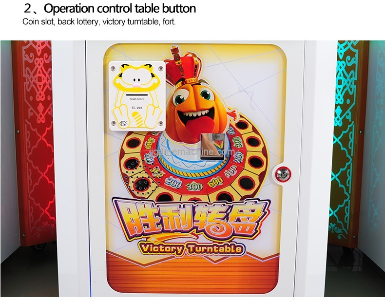 CE approval patting game machine lottery ticket redemption arcade game machine