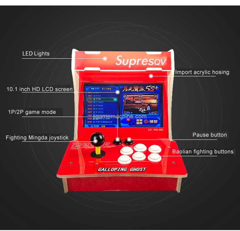 Tiktok hot style 2 Players video games 1500/3200 games available Pandora's key arcade game box
