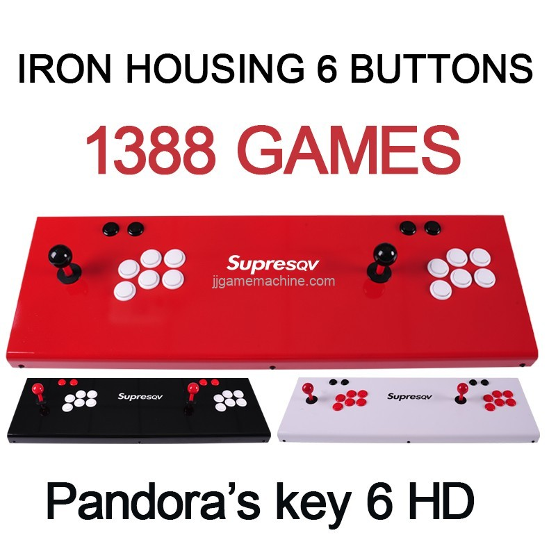 ACRYLIC housing 3D games and 2D games 1500/2700 games in game console