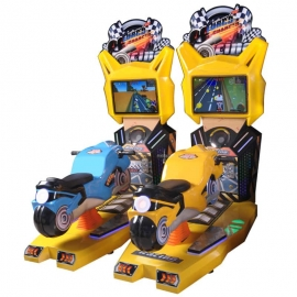 Crazy motor Video Racing Machine