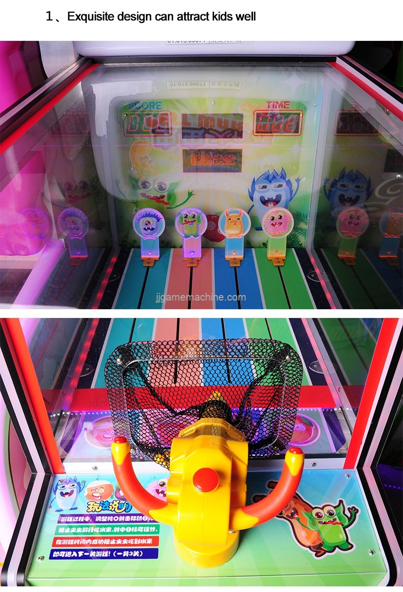game machine for kids fun centre kids playland equipment single player ball shooting game machine