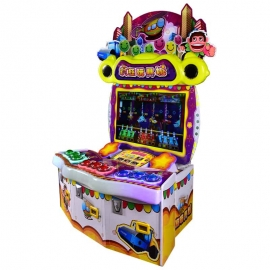 Crazy Toy 3 Players Redemption Game Machine