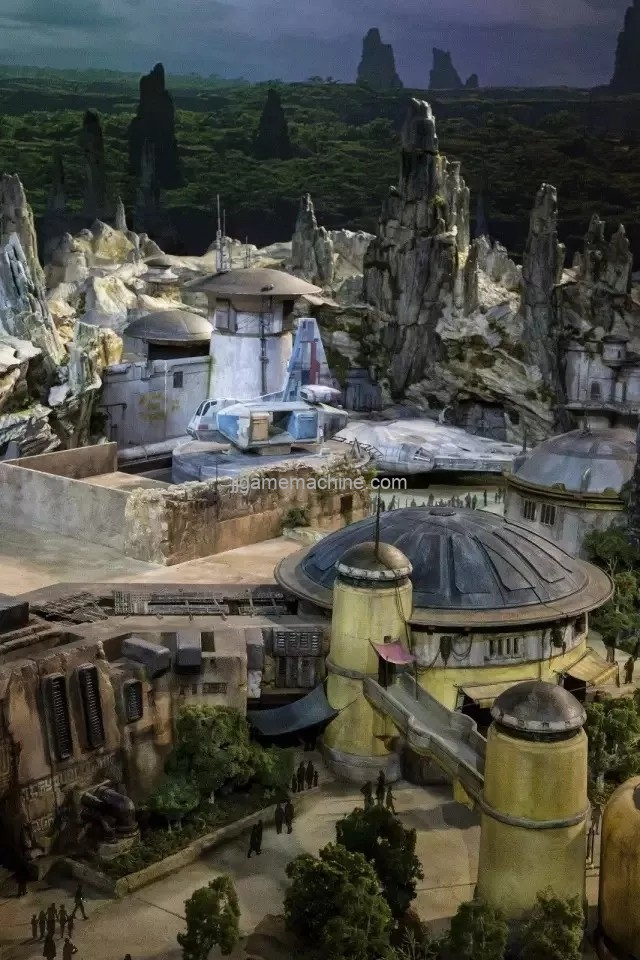 The Disney Star Wars theme park is about to open, and the immersive experience is once again eye-catching