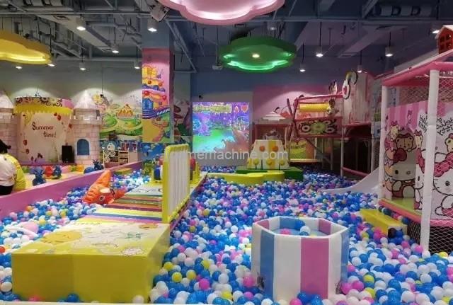 Indoor children's playground equipment functional design 5 directions