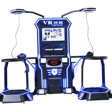 VR Double Player battle game machine