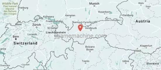 Area 47, coordinates Austria