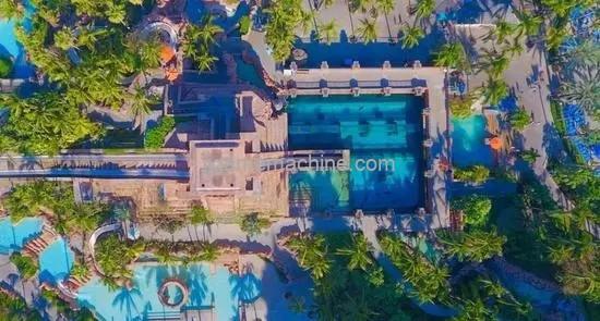 Atlantis Aquaventure Waterpark, coordinates Dubai