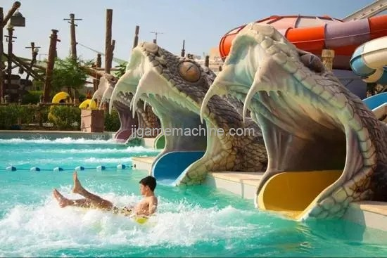 Yas Waterworld, coordinates UAE