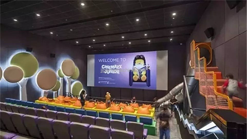 Children's cinema hidden huge business opportunities cinema playground is worthy of attention!