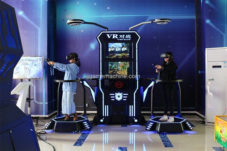 Double player Vr virtual reality games machine two glasses two screens VR indoor game