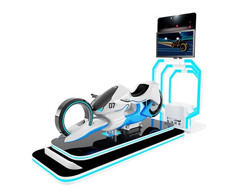 VR Motorbike Racing Game machine
