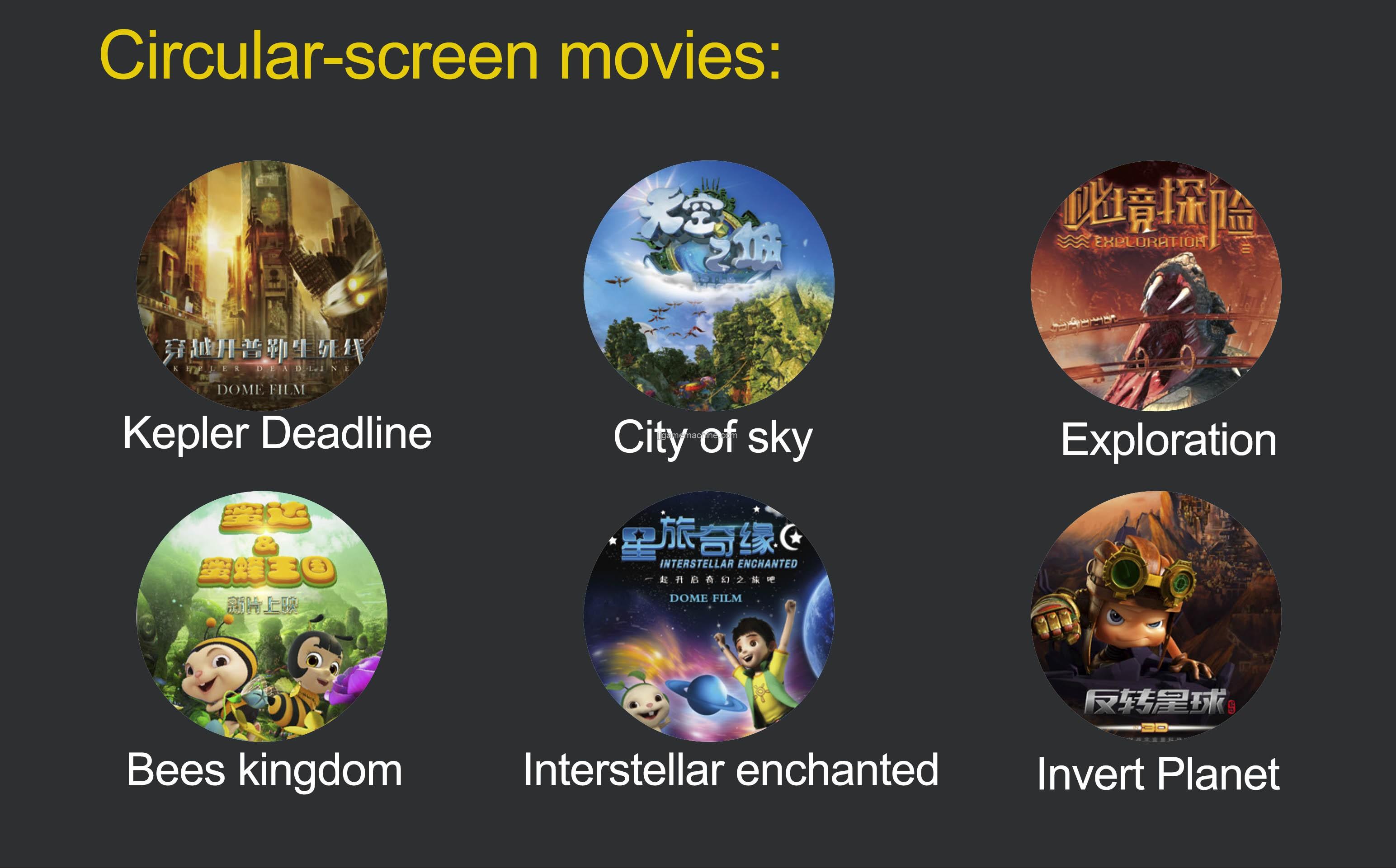 Virtual Reality machine high income circular-screen movie 9d vr cinema