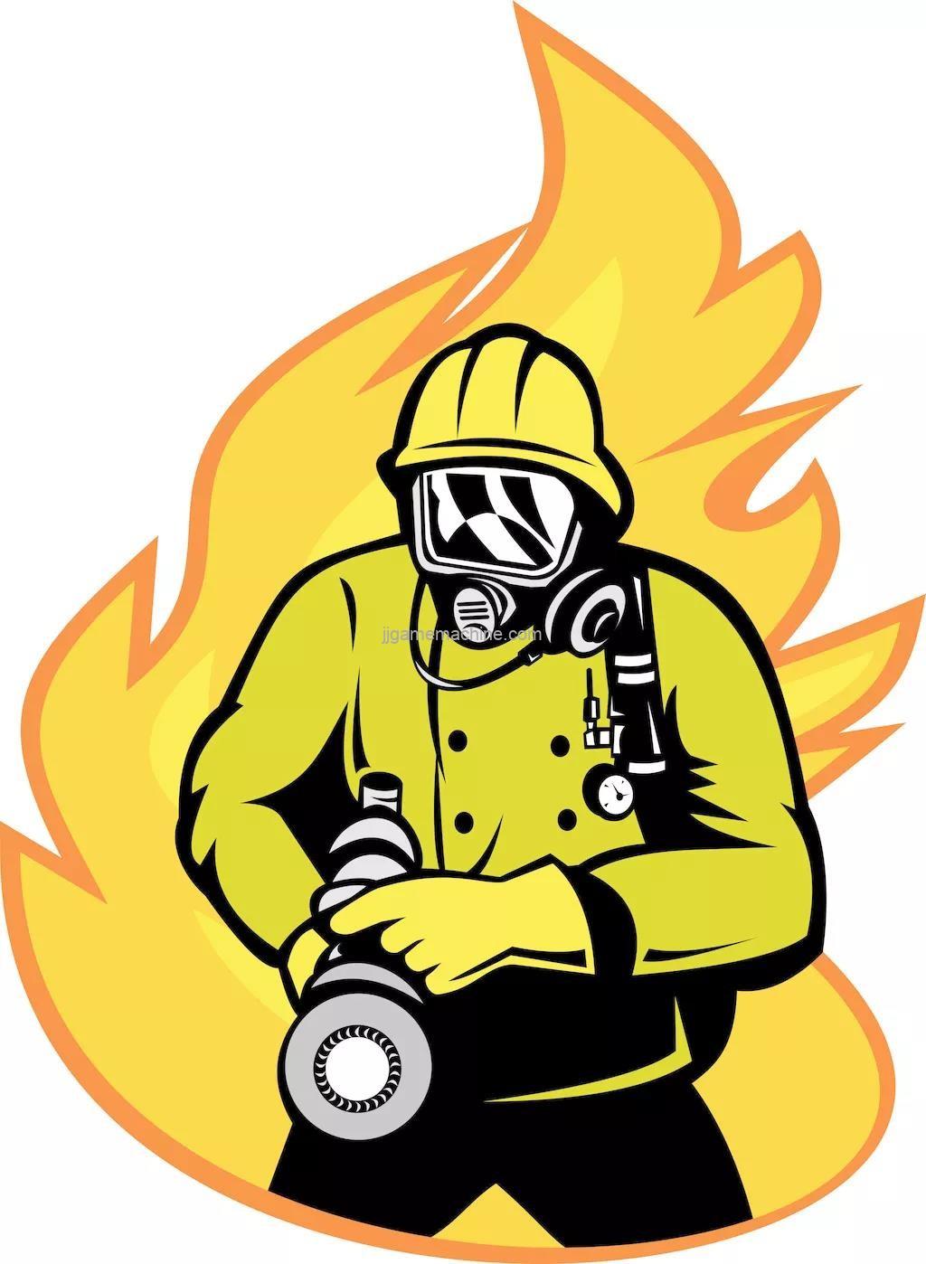 Firefighting common sense necessary for indoor children's park sales staff