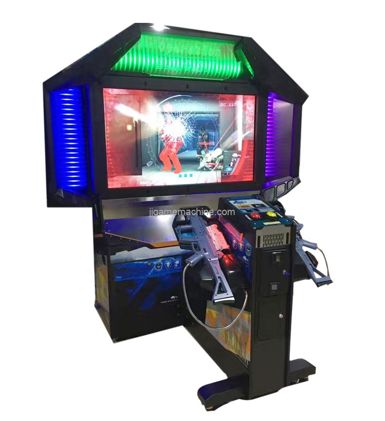 Hot style Coin Operated Ghost Shooting Gun Machine Arcade Video Game Machine