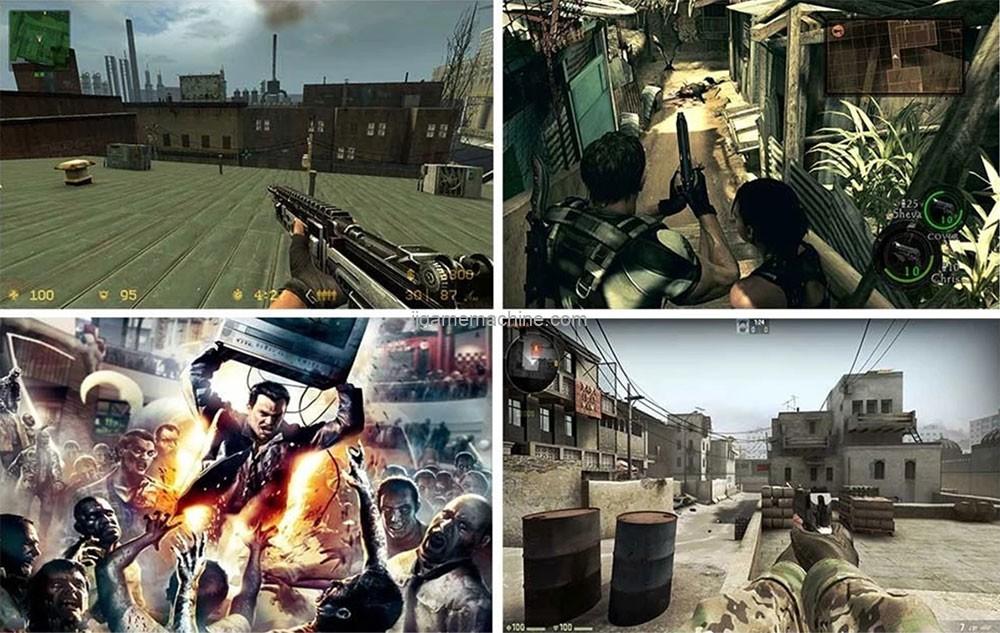 VR Gating Shooting War