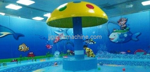 indoor childrens water park decoration precautions